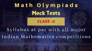 Math Olympiad Mock Tests, Class-2