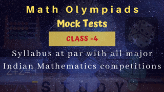 Math Olympiads Mock Tests, Class-4